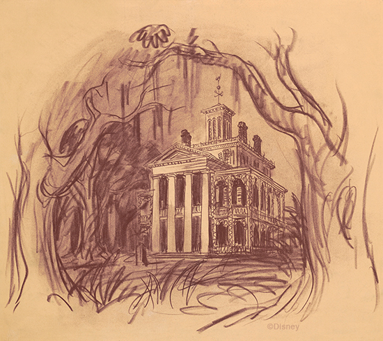 Celebrating 45 years of ghoulish delight at the haunted Haunted house drawing ideas