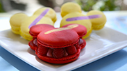 Mickey Macaroons at the Jolly Holiday Bakery Cafe at Disneyland Park