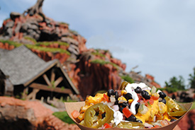 Tex-Mex Waffle Fries at Golden Oak Outpost in Magic Kingdom Park