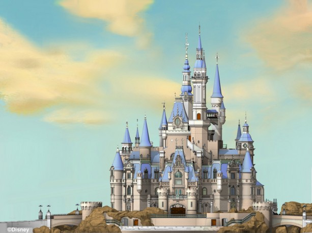 Enchanted Storybook Castle - Shanghai Disneyland - Final Model V