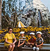 @KrazyKevinWolff: My Dad, Uncles, & Grammy at the ‪@Disneyland ‪#Matterhorn Bobsleds in the late '60s.