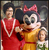 @r-g3nrQa5r: Enjoying Disneyland in the late 1960's - A Captured Memory with Minnie!