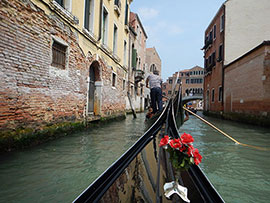 Gondola Tour in Venice with Adventures By Disney