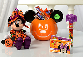 Minnie Haunted Halloween Bucket