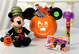 Mickey Haunted Halloween Bucket