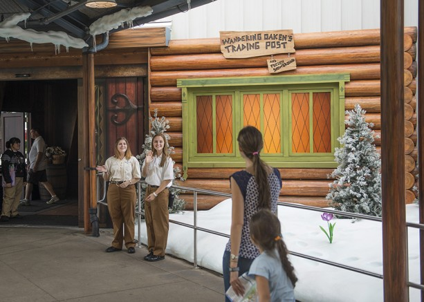 The 'Frozen' Fun Continues at Wandering Oaken's Trading Post & Frozen Snowground! at Disney's Hollywood Studios