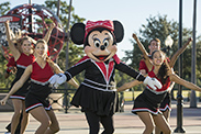 Minnie Cheers On Her Disney Side at ESPN Wide World of Sports Complex