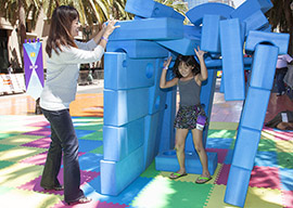 Kids and Families come out to Play at the KaBOOM! Play Together Tour