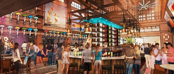 Approved Rendering THE BOATHOUSE Bar Exterior 3