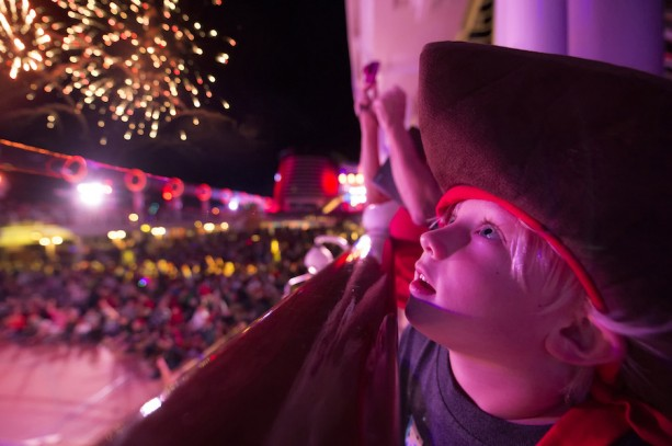 """Buccaneer Blast!"" Fireworks at Sea"