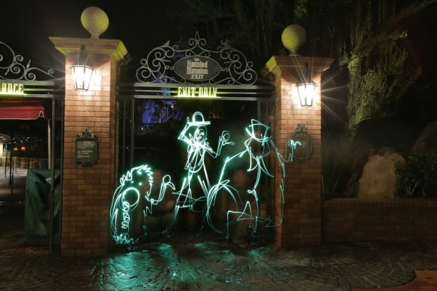 13 Halloween-Inspired 'Light Paintings' at Magic Kingdom Park