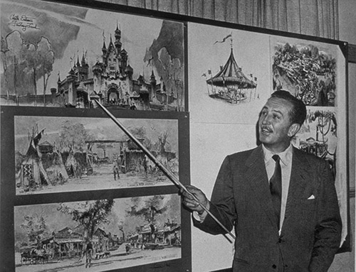 Walt Disney Describes Disneyland Park