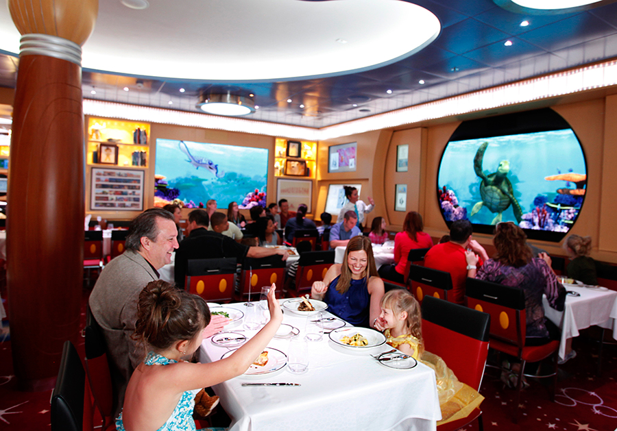Disney Cruise Dinner Menu Different Restaurant