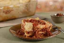 Lasagna Bolognese at New Trattoria al Forno at Disney�s BoardWalk