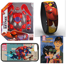 Disney's 'Big Hero 6' Merchandise Lands at Disney Parks