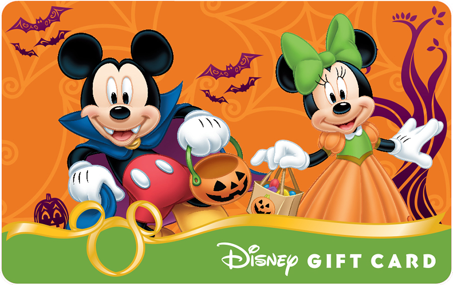 Celebrate halloween with new disney gift card designs by virginia