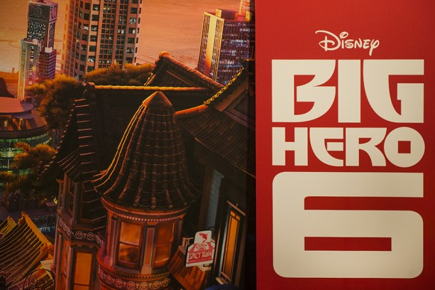 Fans Cheer 'Big Hero 6' at Disney Parks Blog Meet-Up