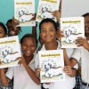 Photo by Carolina Holguín – Proyecto Tití has developed a series of programs that help students learn about the conservation challenges in their country and engage them in actions that promote the conservation of cotton-top tamarins and their forest home