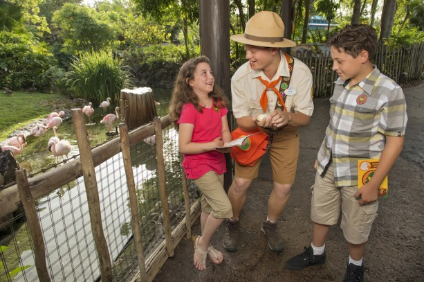 Wilderness Explorers Opens at  Disney's Animal Kingdom