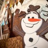 Disney Magic Creates Spectacular 'Frozen' Gingerbread Castle at Walt Disney World Resort