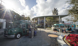 Disney Food Trucks: Exposition Park at Downtown Disney West Side