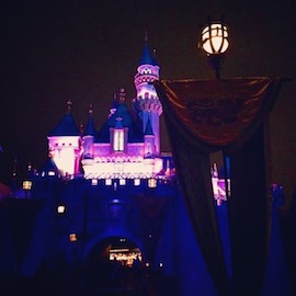 Photo of Sleeping Beauty Castle from @Disneyland on Instagram