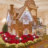 Life-Size Gingerbread House at Disney's Grand Floridian Resort & Spa