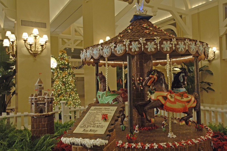 Over The Top Gingerbread Creations Wow Walt Disney World