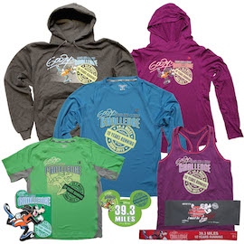 New Merchandise for Goofy's Race and a Half Challenge During the 2015 Walt Disney World Marathon Weekend