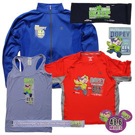 New Merchandise for the Dopey Challenge During the 2015 Walt Disney World Marathon Weekend