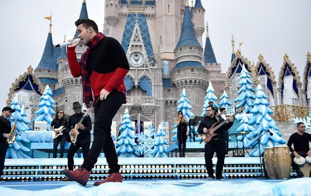 Prince Royce Tapes Disney Parks Frozen Christmas Celebration TV Special