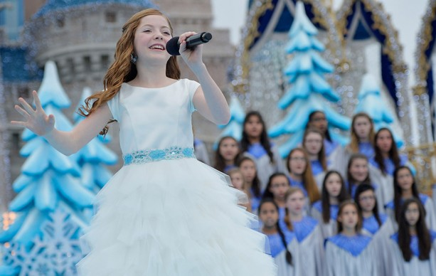 YouTube Sensation Lexi Walker Tapes Disney Parks Frozen Christmas Celebration TV Special