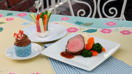 Kids Slow Roasted New York Strip at River Belle Terrace in Disneyland Park