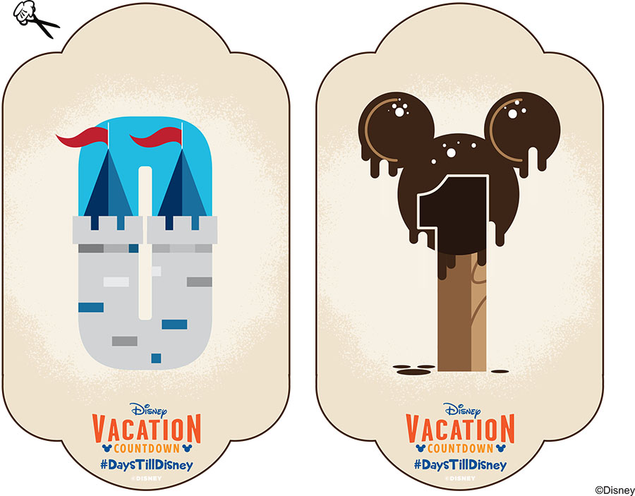 Disney Parks DIY: Create-Your-Own Walt Disney World Vacation Countdown