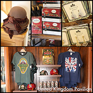 Gift Ideas From United Kingdom Pavilion in Epcot at Walt Disney World Resort