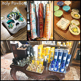 Gift Ideas From Italy Pavilion in Epcot at Walt Disney World Resort