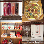 Gift Ideas From France Pavilion in Epcot at Walt Disney World Resort
