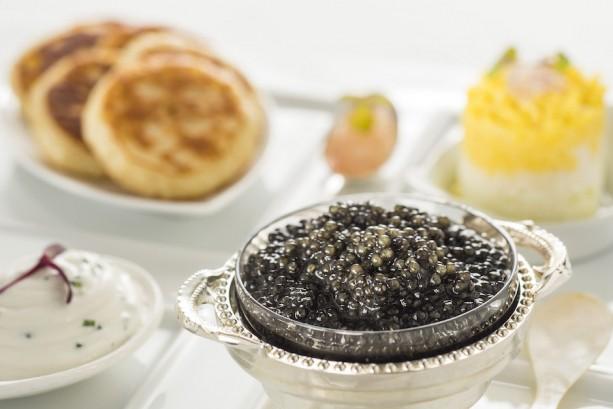 Caviar selections