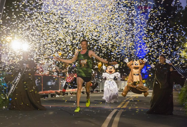 Nick Arciniaga wins inaugural Star Wars Half Marathon