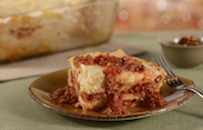 Lasagna from Trattoria al Forno at Disney's BoardWalk