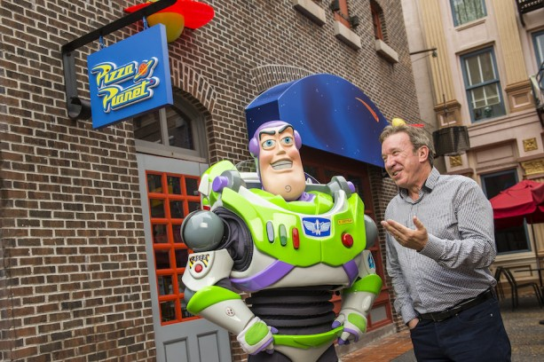 TIM ALLEN MEETS BUZZ LIGHTYEAR AT WALT DISNEY WORLD RESORT