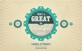 Carousel of Progress Anniversary Wallpaper
