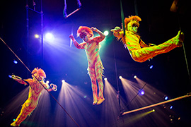 Behind the Scenes: 'Monkeying Out' With The Tumble Monkeys at 'Festival of the Lion King'