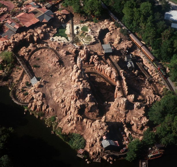 I5-48 Big Thunder Mountain Aerial 2000