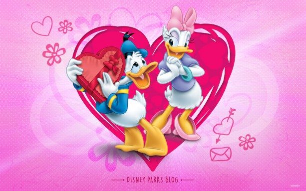 Celebrate Valentine's Day With Donald & Daisy « Disney ...