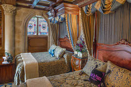 Cinderella Castle Suite  Ready for the Winners of the 'Haunt Your Disney Side' Contest