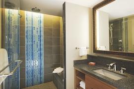 Split Bathrooms in the Deluxe Studios at Disney's Polynesian Villas & Bungalows