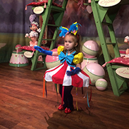 #DisneyKids: Young Girl Overcomes Shyness With Amazing Disney Side Costumes