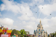 U.S. Navy Blue Angels Amaze at Magic Kingdom Park
