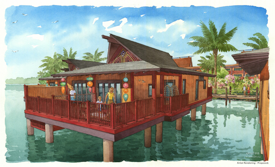 Disney's Polynesian Villas & Bungalows Opening in 2015